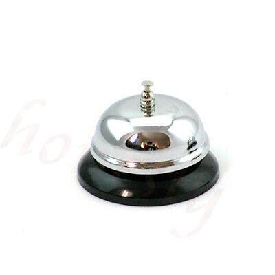 1pc Restaurant Hotel Kitchen Service Steel Bell Ring Reception Desk Call Ringer 4