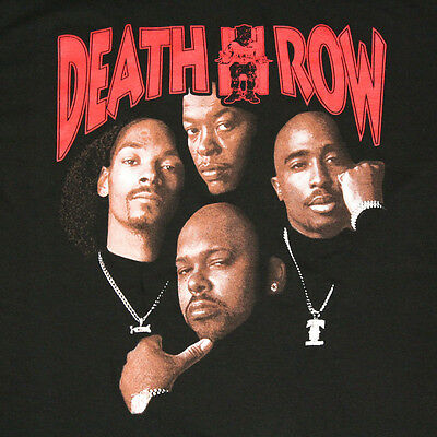 1 Of 3FREE Shipping Death Row Records Tupac Dre Poster Mens T Shirt Black