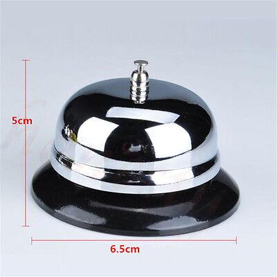 1pc Restaurant Hotel Kitchen Service Steel Bell Ring Reception Desk Call Ringer 2