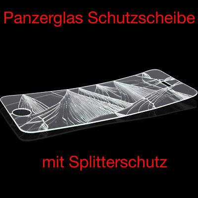 iPhone Xs Max 5s 6s 7 8 Plus 3D Panzerglasfolie Display Schutzfolie klar WOW ✅ 6