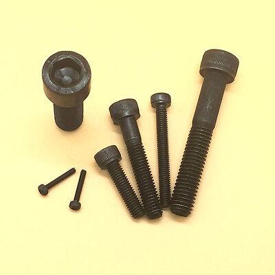 150mm New M12 Allen Hex Socket Head Cap Screws Bolts Select Variations 16mm