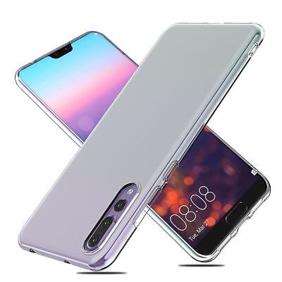 Shockproof Silicone Protective Clear Gel Cover Case For Huawei P20 Pro P Smart 11