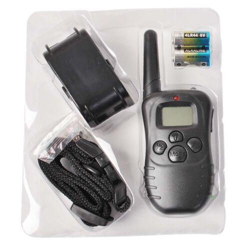 300M Electric Anti-Bark Shock Collar Dog Training Remote Control Anti-Barking 8