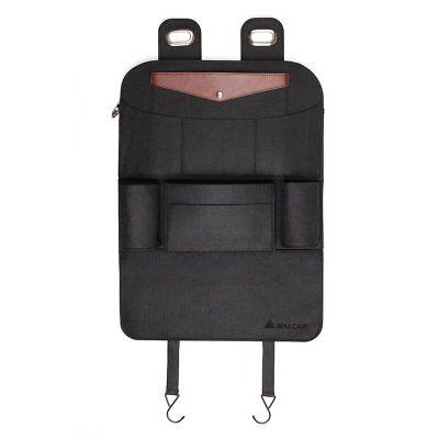 Auto KFZ Rücksitz Tasche Organizer Rückenlehnentasche Kinder PU leather