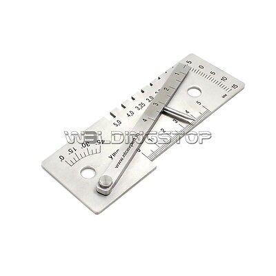 Square Welding Gauge Multi function welding inspection gage for TIG MIG MMA weld