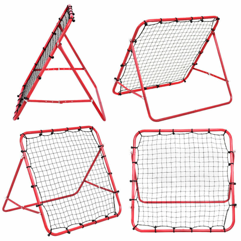 New Rebounder Net Kids Adults Football Training Aid Practice Adjustable 10