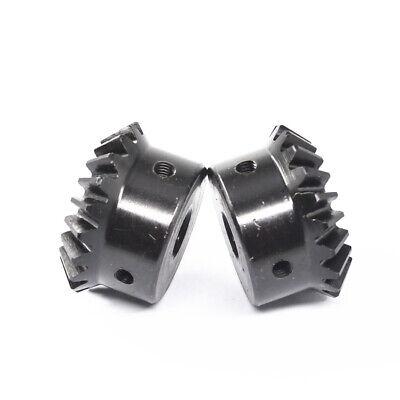 Modul 1 Kegelrad Kegelzahnrad 20 25 30 Zähne Präzision Mechanische Zahnräder