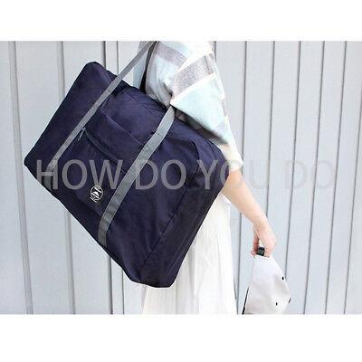 Portable Foldable Travel Storage Luggage Carry-on Big Hand Shoulder Duffle Bag 6