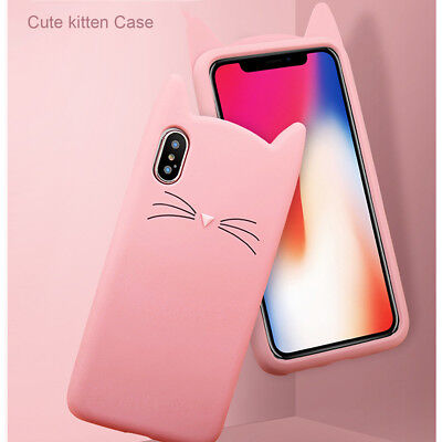 F iPhone 11 Pro Max 8 Plus XS Max XR Girls Love Cute Protective Phone Case Cover 7