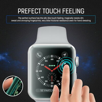 MaxShield Screen Protector for Apple Watch Series 2/3/4/5 38/42mm 40/44mm iWatch 10