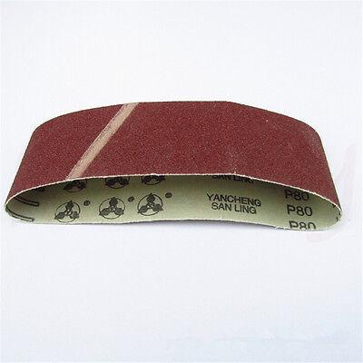 1/3/5/10pcs 533x75mm Sanding Belt 40~120 Grit Abrasive Belts Polishing Tool 6