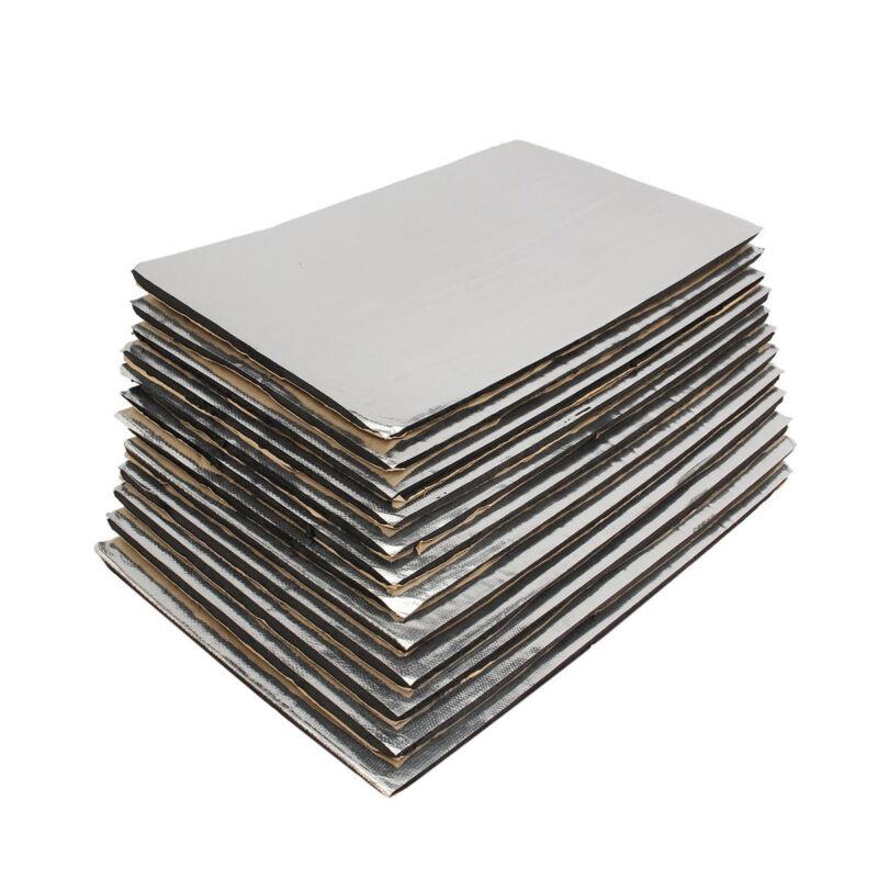 50x30CM Car Heat Insulation Shield Noise Deadening Sound Proofing Foam Deadener 4