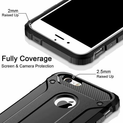 Hybrid Armor Shockproof Rugged Bumper Case For Apple iPhone 10 X 8 7 Plus 6s 5s 8