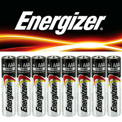 48 X Duracell Energizer AA AAA Batteries New Genuine Alkaline Power 2