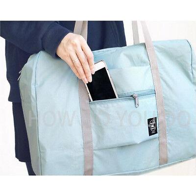 Portable Foldable Travel Storage Luggage Carry-on Big Hand Shoulder Duffle Bag 7