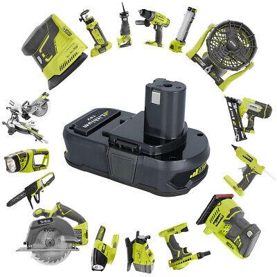 For RYOBI P107 2.5Ah 18V battery ONE+ MAX P104 Lithium P108 P105 P103 P102 P106 9