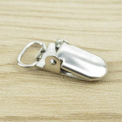 10/20Pcs Insert Pacifier Metal Holder Suspender Clips Mitten For Craft 10mm 5