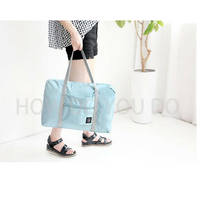 Portable Foldable Travel Storage Luggage Carry-on Big Hand Shoulder Duffle Bag 10
