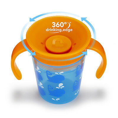 Munchkin Miracle Trainer Cup Decor 360 Sippy Cup Anti Spill Baby Cup New 2019 5