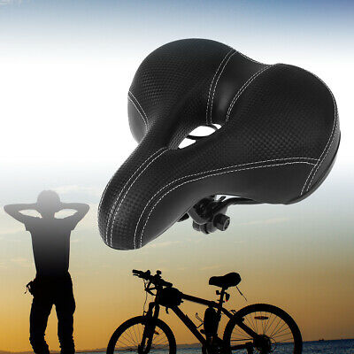 Road MTB Mountain Bike Bicycle Saddle Spring Seat Soft Padded Cushion Cover VIC 7