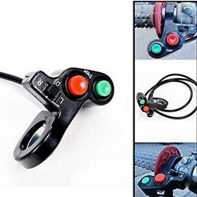 Interruttore completo switch luci frecce clacson accensione moto scooter quad 2
