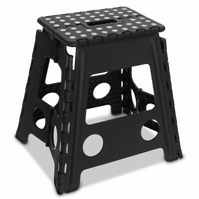 Multi Purpose Plastic Folding Step Stool Home Kitchen Easy Storage Foldable Seat 6