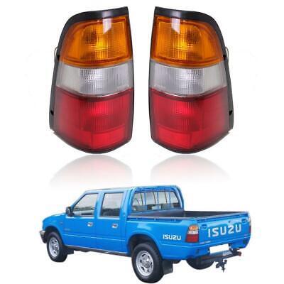 Rear Tail Light Lens Fits Isuzu TFR Pickup Vauxhall Brava UTE 1989-1996 L+R UK