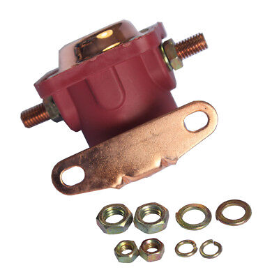 New 12V Heavy Duty Solenoid Relay Red Fits For Ford Starter Car Truck SW3 SNL135 2