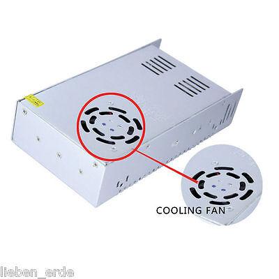 12V 24V 5A 8.5A 10A 15A 20A 25A 30A LED Trafo Netzteil Netzadapter Für Streifen