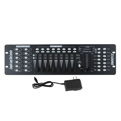 192 Channels DMX512 Controller Console For Stage Light Party DJ Laser Operator 3