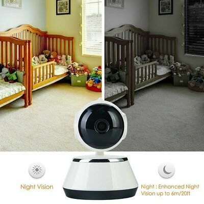 HD Night Vision Wireless WiFi Smart Home Security Camera Video Baby Dog Monitor 5