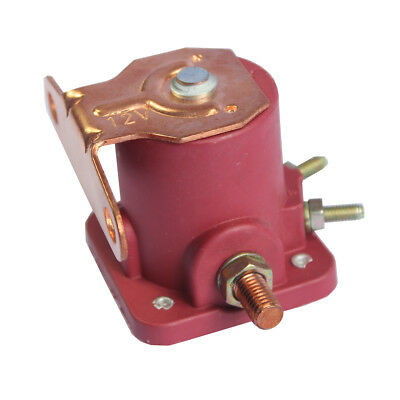 New 12V Heavy Duty Solenoid Relay Red Fits For Ford Starter Car Truck SW3 SNL135 9