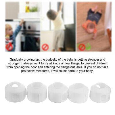 Baby Safety Door Knob Covers DoorKnob Locks Child Children Kids Proof 5 Pack 5