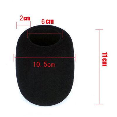 Pop Filter Windscreen Microphone Sponge Foam Cover For Blue Yeti Pro Mic Black 4