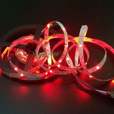 5M 3528 RGB 300Led SMD Flexible Light Strip IP20  +44key IR+ EU/US 12V 2A Power