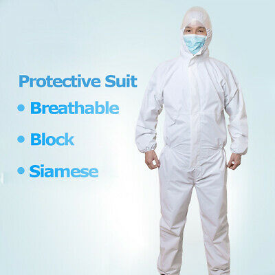 Disposable Coveralls Clothing Protective Safety Overalls Suit Full Protection 2
