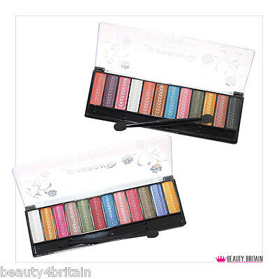24 EYE SHADOWS PALETTES x 12 COLOURS IN EACH WITH APPLICATOR WHOLESALE JOB LOT