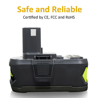 18V for P108 RYOBI ONE PLUS Li-ion High Capacity Battery P104 P105 P106 P107 4Ah 5
