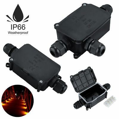Waterproof Junction Box Electrical Cable Connector Outdoor IP66/IP68 Underground 4