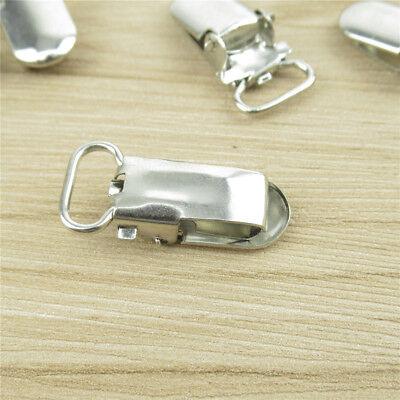 10/20Pcs Insert Pacifier Metal Holder Suspender Clips Mitten For Craft 10mm 3