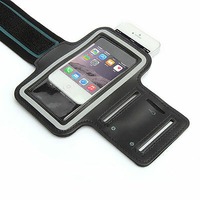 "Universal Adjustable Armband Case Holder For Mobiles UpTo 5.7"" Black (XL)"