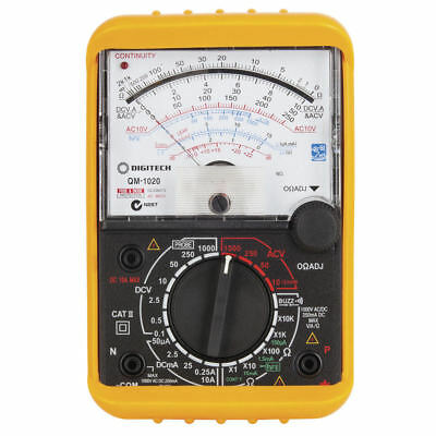 NEW Analogue Movement Multimeter QM1020