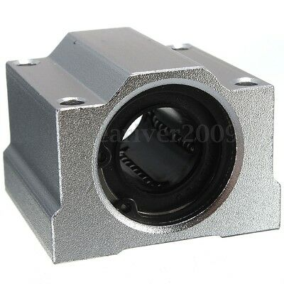4Pcs/set SC20UU 20mm Aluminum Linear Motion Ball Bearing Slide Bushing for CNC