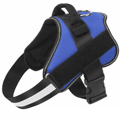 Non Pull Dog Harness Outdoor Adventure Pet Vest Padded Handle Small Medium Large 12