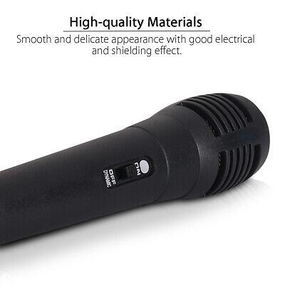 Microphone à Main Filaire Professionnel Micro Unidirectionnel Dynamique Karaoké 3