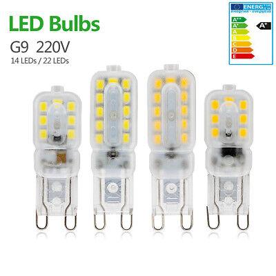 G9 LED 3W 5W 220V Capsula lampadine di Lampada Alogena Risparmio Luce di mais