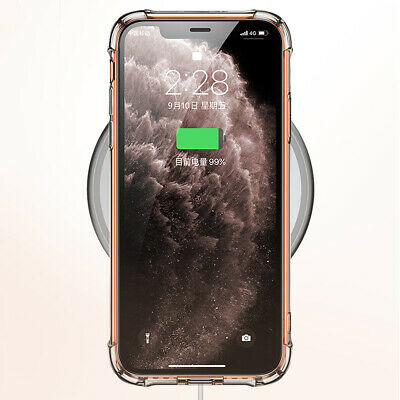 CLEAR Case For iPhone 11 Pro Max XR X XS Max 7 8 Plus Cover Shockproof Silicone 6