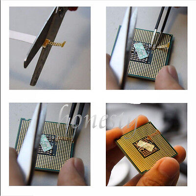 3pcs The Third Generation LGA 771 to 775 MOD Adapter Sticker For Intel XEON 2
