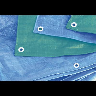 TARP2040G Sealey Tarpaulin 6.10 x 12.19mtr Green [Tarpaulins] 5