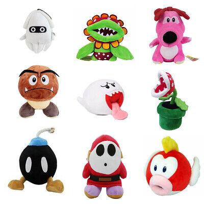 5~12'' Super Mario Bros. Plush Toys lot Magikoopa Kamek Waluigi Bowser Jr. Koopa 4